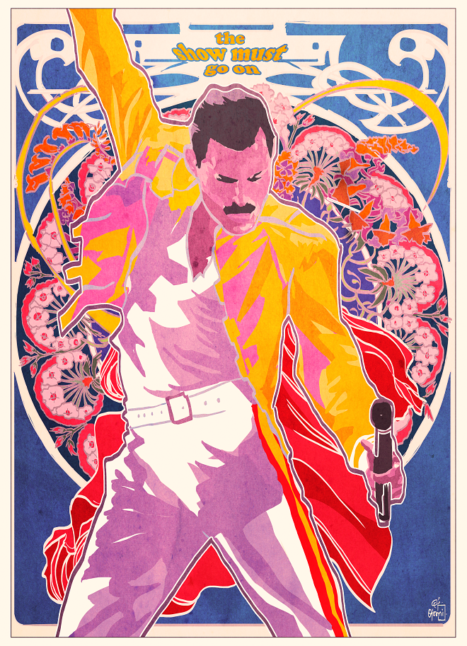 Freddie Mercury by Ojoswi Sur | Cupick