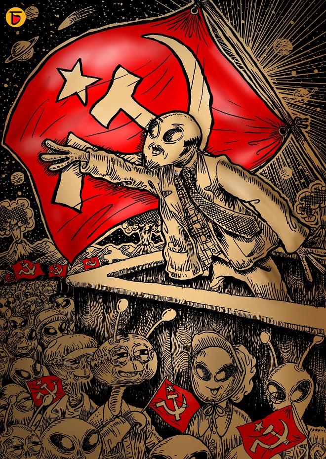 Comrade Alien by Charbak Dipta | Cupick