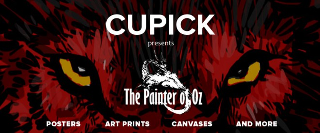 The Painter of Oz | Cupick