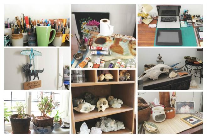 Pia Meenakshi's Home Studio