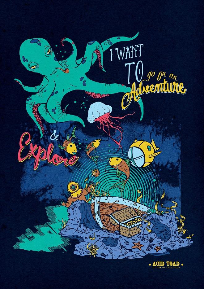 Deep Sea Adventure by Acid Toad | Cupick