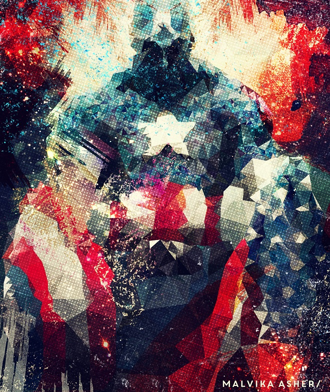 Captain America by Malvika Asher | Cupick