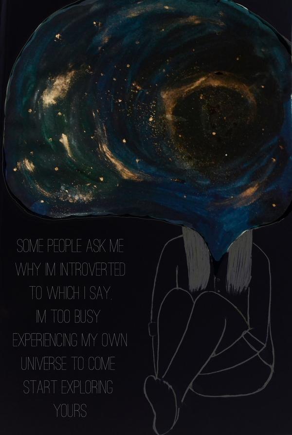 introvert by Deepti Ramakrishnan   Cupick