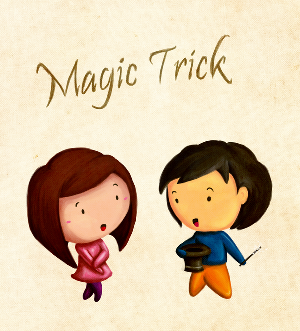 Magic Trick by Divya Tak | Cupick