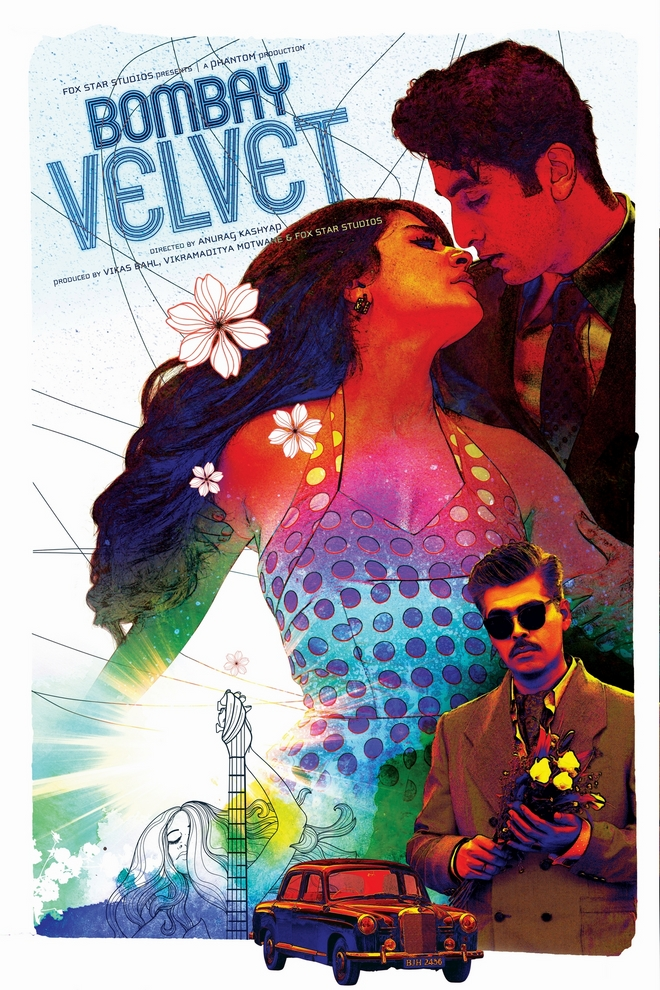 Bombay Velvet fan poster submission by Ajinkya Bane