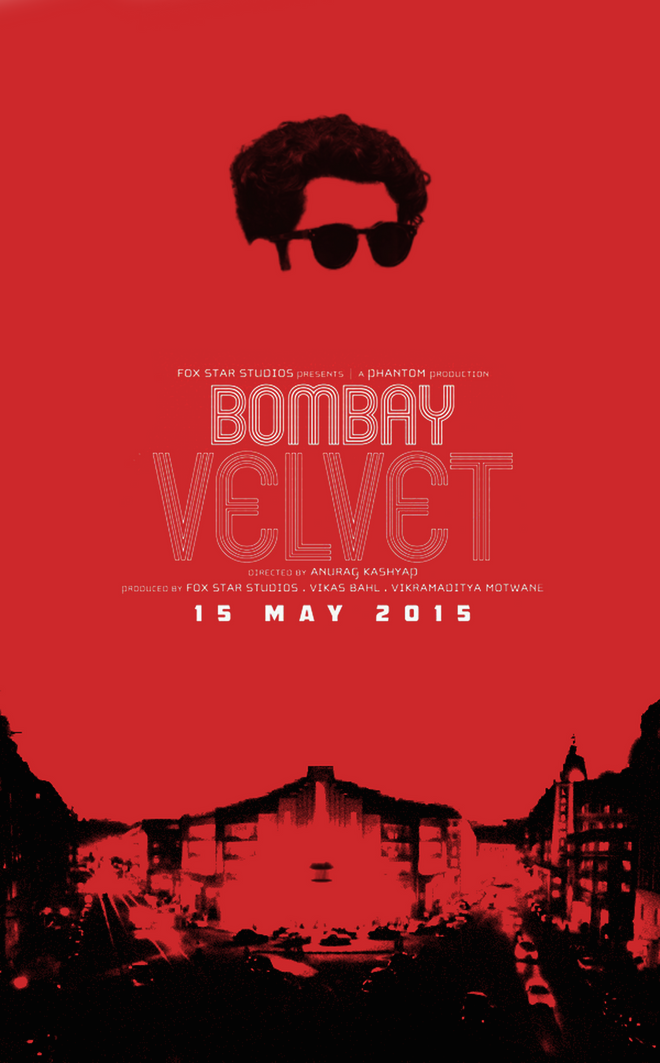 Bombay Velvet fan poster submission by Regina