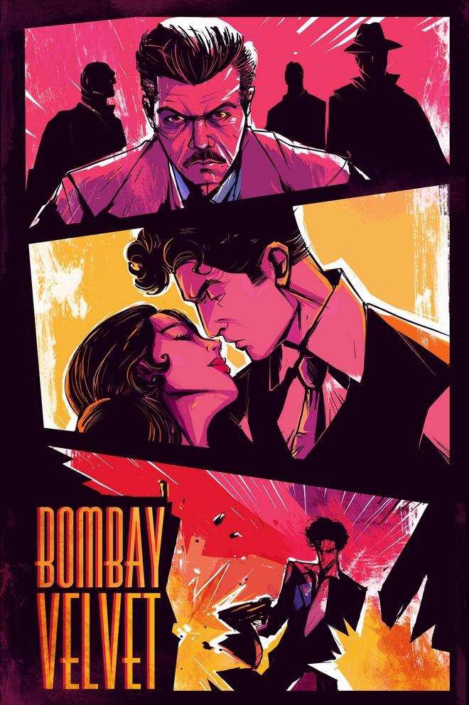 Bombay Velvet fan poster submission by Abhishek Choudhury
