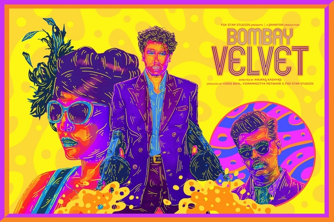 Bombay Velvet fan poster submission by Arushi Kathuria aka Swine Flew