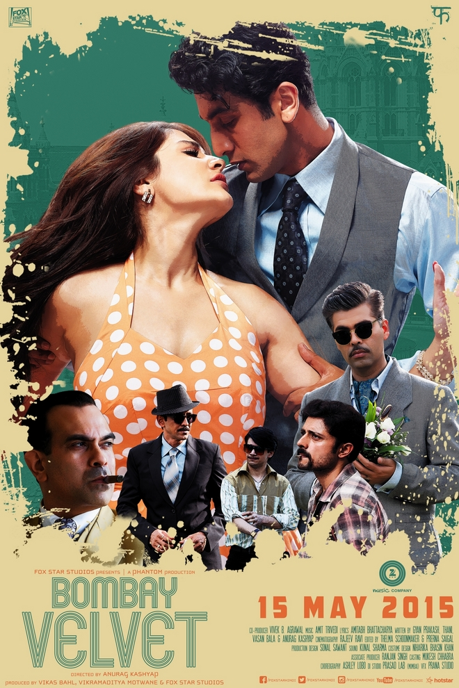Bombay Velvet fan poster submission by Rohit Kumar
