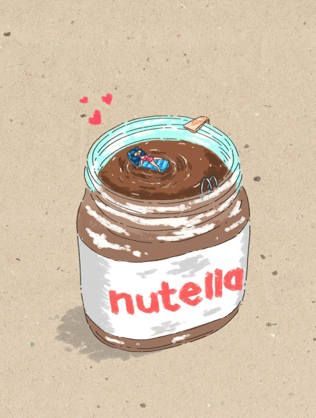 Nutella by Swine Flew | Cupick