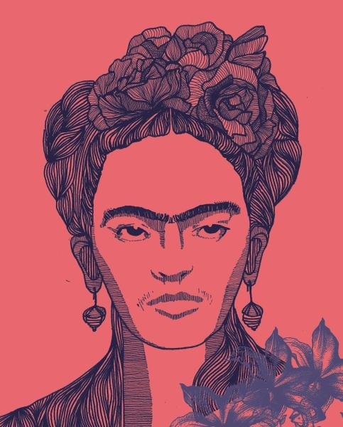 Ms. Kahlo by Param Jain   Cupick