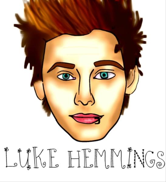 Luke Hemmings by Megha Nair
