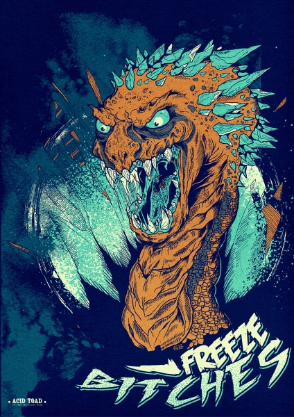 Ice Serpent by Acid Toad | Cupick