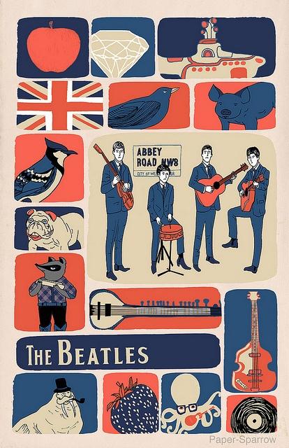 The Beatles by Andrea Lauren