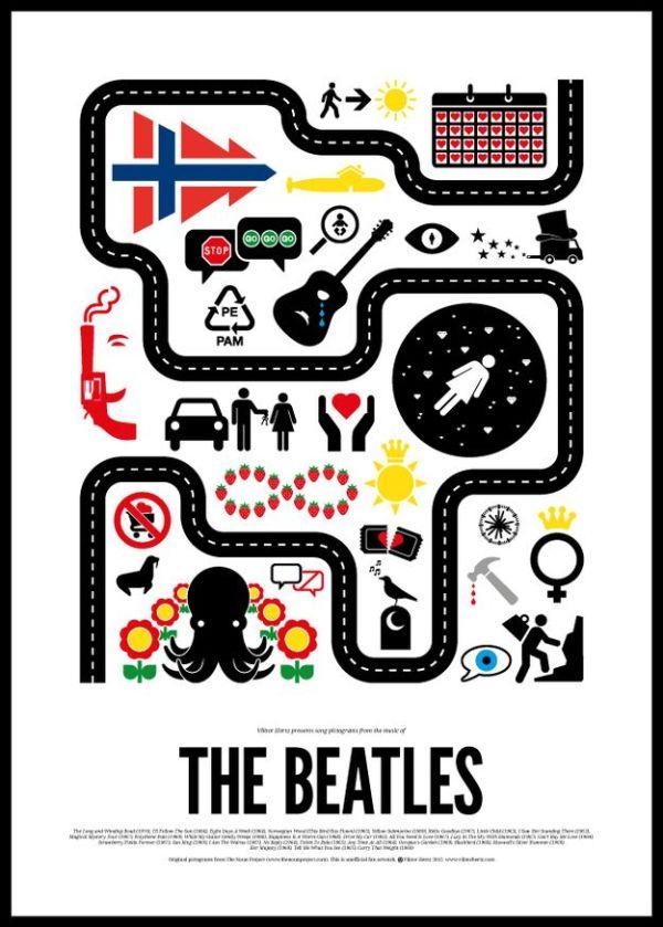 The Beatles by Viktor Hertz