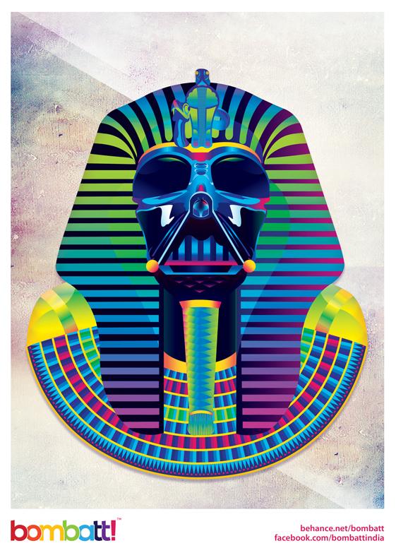 Pharaoh Vader by Bombatt!