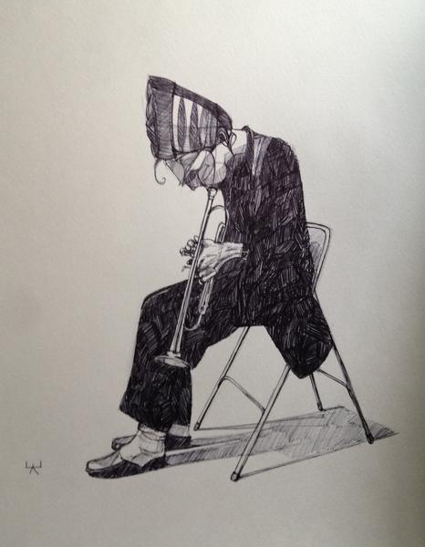 Chet Baker by Kehaan Saraiya