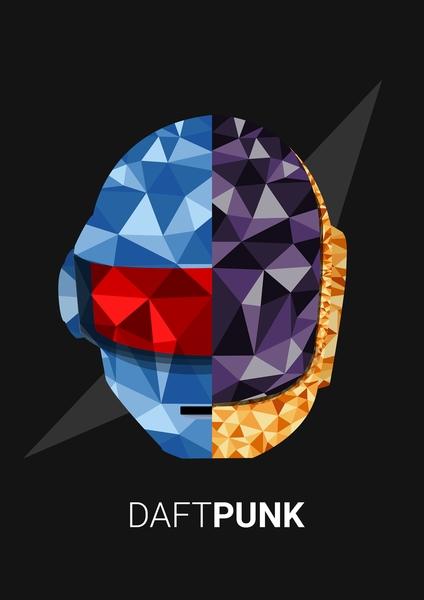 Daft Punk by Siladityaa Sharma