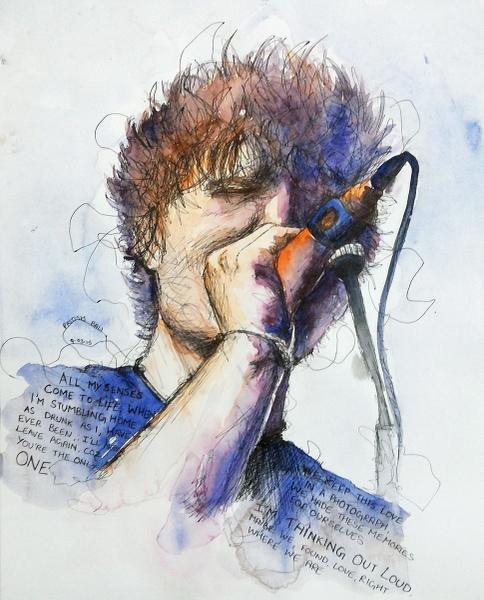 Colors and Ed Sheeran by Pritish