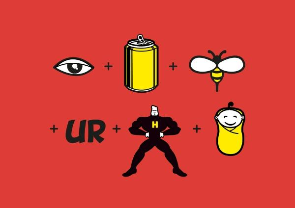 Eye Can Bee Ur Hero Baby by Arindam Majumdar | Cupick