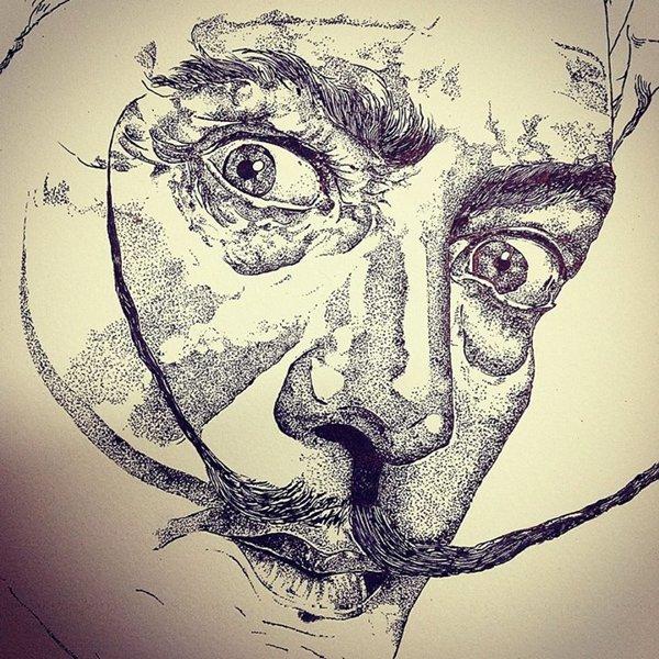 Salvador Dali by Ivy Mukherjee | Cupick