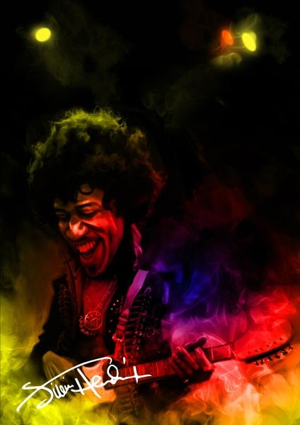 Jimi Hendrix by Sarvesh Agarwal  | Cupick