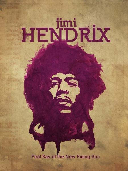 Jimi Hendrix by Vaishnavi Ravi  | Cupick