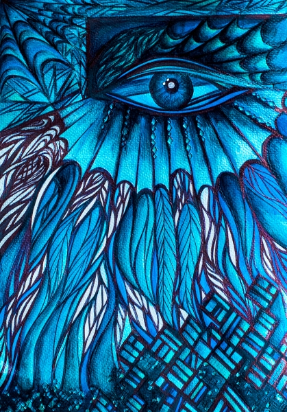 Dragon Eye by Johanna Pinto | Cupick