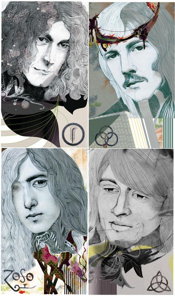 Led Zeppelin by Felicia Atansiu