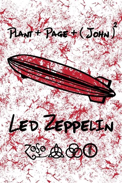 Led Zeppelin Grunge by Sreeraj | Cupick