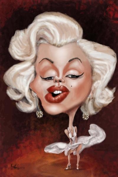 Marilyn Monroe by Kaleidostrokes | Cupick