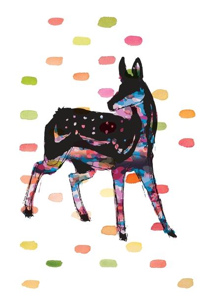 Oh Deer by Lotta Farber | Cupick