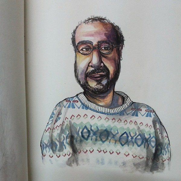 Portrait by Maanvi Kapur
