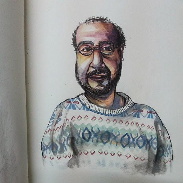 Portrait by Maanvi Kapur