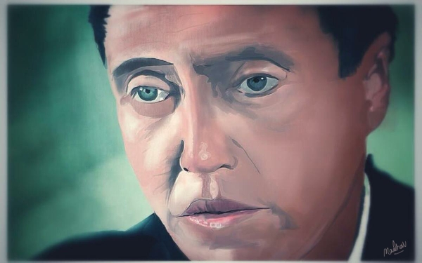 Christopher Walken by Madhav Chatterjee | Cupick