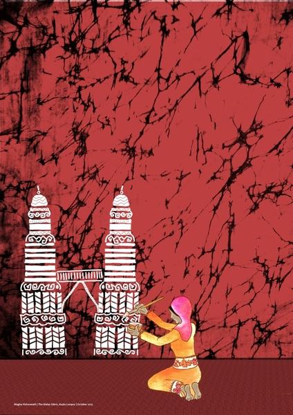 The Malay Fabric by Megha Vishwanath | Cupick