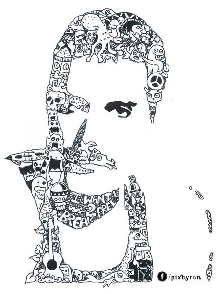 Freddie Mercury by Rajarshi Goswami | Cupick