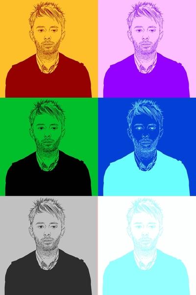 Thom Yorke by Vaishnavi Ravi  | Cupick