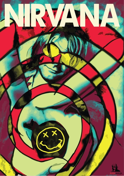 Kurt Cobain by Rhea Ahuja | Cupick