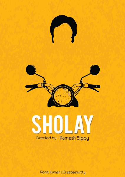 Sholay by Createewitty  | Cupick