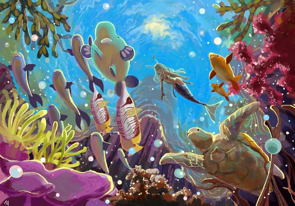 Peace of Mermaid by Seok Ji | Cupick