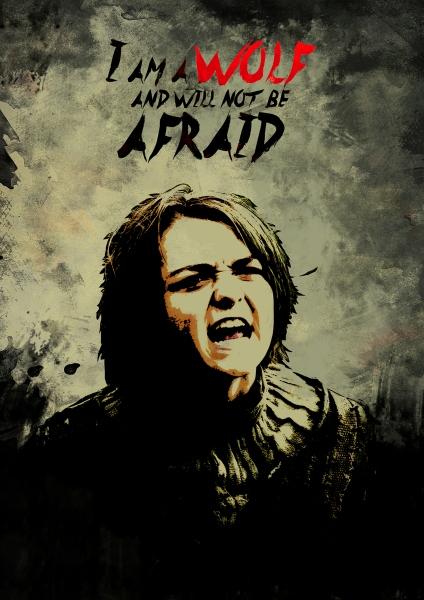 Arya Stark by Uttam Kumar Pandey | Cupick