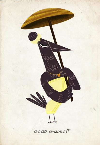 Kaka Thamburati (Queen of Crows) by Vinayak J | Cupick