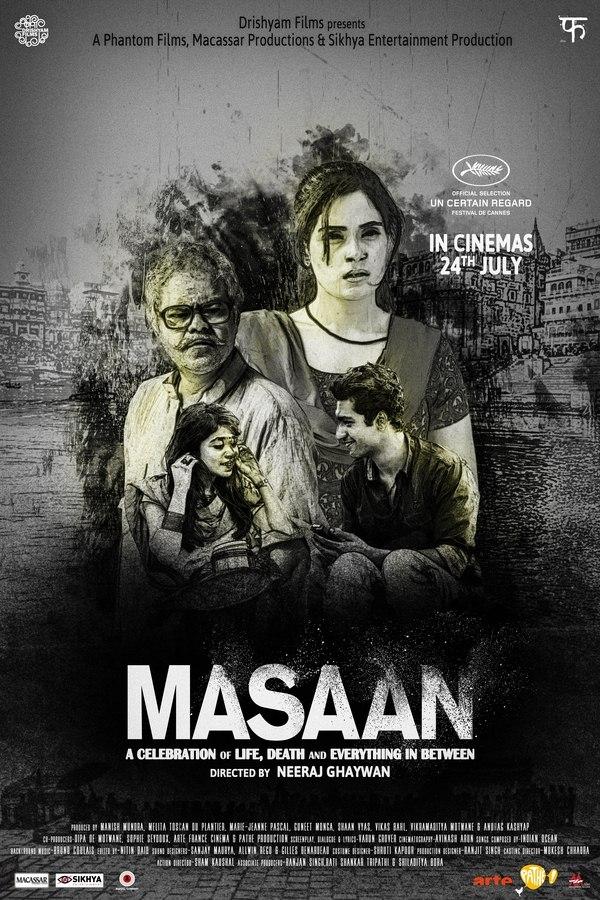 Masaan Fan Poster Design by Jay Kay