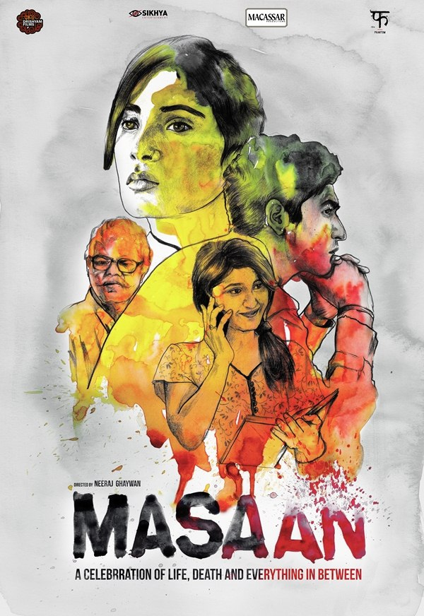 Masaan Fan Poster Design by Rahul Jha (RJ Artworks)
