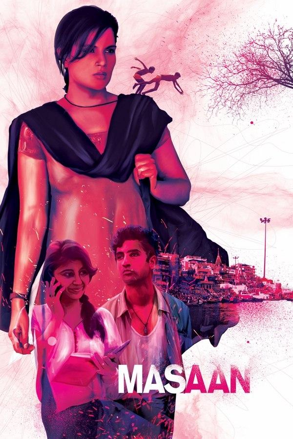 Masaan Fan Poster Design by Ajinkya Bane