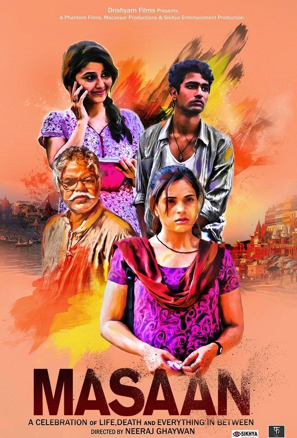 Masaan Fan Poster Design by Nisha Majumdar