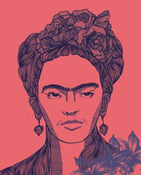 Frida Kahlo by Param Jain