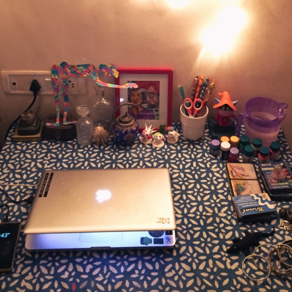 Arushi's Workstation and Tools