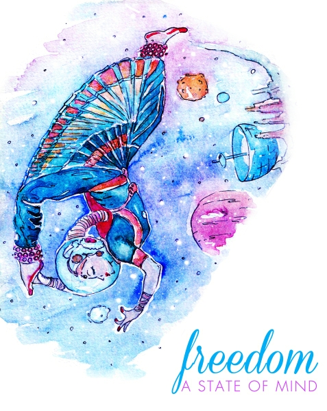 Freedom by Kokila Bhattacharya